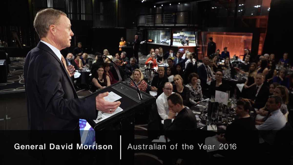 Gala Dinner Event with David Morrison