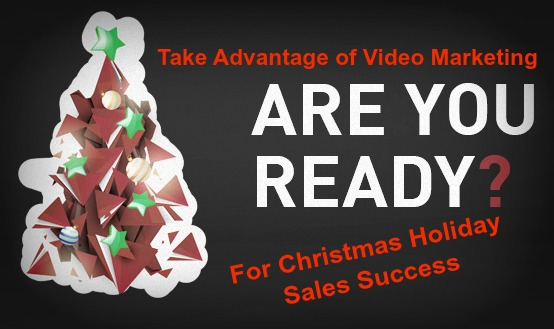 Christmas holiday video marketing